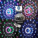 ลำโพงดิสโก้ Bluetooth Disco Ball ลำโพงไฟดิสโก้เปลี่ยนแสง-สี LED ได้