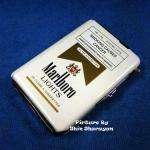 กล่องบุหรี่พร้อมไฟแช็ค แบบ ไฮเท็ค Marlboro Light