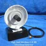 จานรับสัญญาณ WiFi แรงสูง รัศมีวงกว้าง Wireless-G 8 dBi