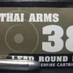 ลูกกระสุน .38 Spl LRN TA