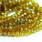 คริสตัลจีนทรงซาลาเปาสีเหลืองทอง 8 มิล ปกติเส้นละ 150 บาท ลดเหลือ 80 บาท ความยาว 17 นิ้ว จำนวน 70 เม็ด