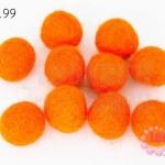 ลูกบอล Feit 15มิล #3 สีส้ม (5ลูก)