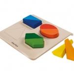 ของเล่นไม้ ของเล่นเด็ก ของเล่นเสริมพัฒนาการ Twist & Shape (ส่งฟรี)