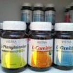 Set Diet for weight loss : Vistra L-Phenylalanine + Vistra L-carnitine plus 3L + L-Ornithine ครบสูตรลดน้ำหนัก ราคาพิเศษ