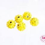 บอลเพชร เกรดดี 8 มิล สีเหลือง