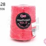เชือกเทียน ตราLookpudshop(ม้วนใหญ่) สีชมพูเข้ม เบอร์ 2 #936 (1ม้วน)