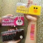 #Set lip stick color mood peiyen เซท ลิปสติก ไลน์ สุดน่ารัก สุดคุ้ม เซทละ 10สี