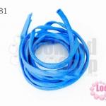 เชือกผ้า ไส้ไก่ สีฟ้า (1เส้น/2เมตร)