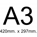 A3 (42 X 29.7 CM.)