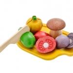 ของเล่นไม้ ของเล่นเด็ก ของเล่นเสริมพัฒนาการ Assorted Vegetable Set (ส่งฟรี)