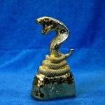 ไฟแช็คแก็สตั้งโต๊ะ งูเห่าสีทอง