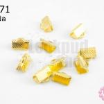 บานพับ สีทอง 6X10มิล(10ชิ้น)