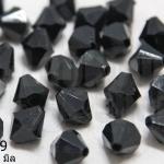 คริสตัลพลาสติก สีดำ 10มิล (1ขีด/100กรัม)