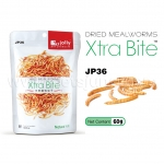 JP36 Jolly - Dried Mealworms หนอนนกอบแห้ง (60g.)