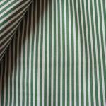 ผ้าฝ้ายญี่ปุ่น ลายทางสีเขียวเข้ม จาก Lecien ตัดเสื้อได้ หรือ ทำผ้ารองซับๆใน สำหรับกระเป๋า กุ้นขอบ ฯลฯ เนื่อดีราคาประหยัดค่ะ