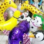 Set#26 บอลลูนสัตว์ Walking Balloon จำนวน 10 ใบ (คละแบบได้) อัดก๊าซฮีเลียมปลอดภัย ไม่ติดไฟ