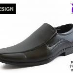 รองเท้าคัทชู DESIGN ดีไซน์ รหัส BZ014 สีดำ เบอร 40-45