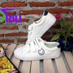 รองเท้าผ้าใบแฟชั่นเกาหลี สีขาว รุ่นb232 เบอร์36-39