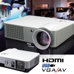 ++ คาราโอเกะกันเต็มอิ่ม!! กับ ABLE-800+ มินิโปรเจคเตอร์ ขนาดเล็ก คุณภาพสูง เหมาะใช้ฉาย คาราโอเกะ พรีเซ้นท์งาน ความสว่าง 2000lm ฉายได้ 80-130 นิ้ว เล่นไฟล์ HD ได้มีพอร์ท HDMI,SVGA 800*600 pixels 1080p เจ๋งจริงสำหรับ คอเพลง Mini Projector ของดี ราคาถูก แบบน