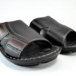 รองเท้าหนัง Aerosoft 0303 ดำ