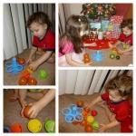 [รีวิว] ของเล่นเสริมพัฒนาการ Smart Snacks Peek-a-Boo Color Muffins