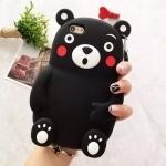 ** พร้อมส่งค่ะ **เคส iPhone 6/6s ลาย Kumamon 3D สีดำ