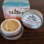 ครีมกันแดดน้ำนมข้าว (Rice milk sunscreen cream) by Money ราคาปลีก 120 บาท / ราคาส่ง 96 บาท