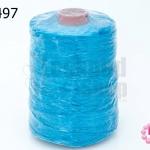 เชือกเทียน ตราน้ำเต้า สีฟ้า #912 (1ม้วน)
