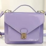 พร้อมส่ง กระเป๋าแฟชั่น Axixi สี ม่วง แบบสะพายเก๋ๆ ใบกลาง สวย น่าใช้ค่ะ