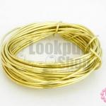 ลวดดัด สีทองเหลืองสีอ่อน 1.6มิล (1ชิ้น)