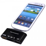HDMI Adapter และ OTG Card Reader สำหรับ Samsung และ Android (Black)