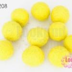 ลูกบอล Feit 20มิล #2 สีเหลือง (5ลูก)