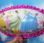 ลูกโป่งฟลอย์การ์ตูนเจ้าหญิง Princess มีสีฟ้าและชมพู กรุณาระบุสีที่ต้องการเมื่อสั่งซื้อ - Princess Cartoon Foil Balloons / Item No. TL-A127