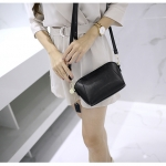 Zipper Black Bag