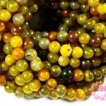 หินเกร็ดมังกร เขียว-ส้ม 8 มิล
