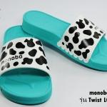 รองเท้าแตะ Monobo Jello 6 โมโนโบ้ รุ่น เจลโล่ 6 สวม สีทะเล เบอร์ 5-8