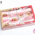 ด้ายเย็บผ้า ตราVENUS สีชมพูอ่อน (1กล่อง/12ม้วน)