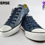 รองเท้าผ้าใบ CONVERSE ALL STAR GLITTER OX NAVY เบอร์ 7,8,9