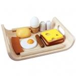 ของเล่นไม้ ของเล่นเด็ก ของเล่นเสริมพัฒนาการ Breakfast Menu ชุดอาหารเช้า [ส่งฟรี]