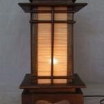 โคมไฟไม้ สำหรับตบแต่งโรงแรม รีสอร์ท