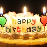 เทียนวันเกิด Happy Birthday ลูกโป่ง / Item No.TL-N002