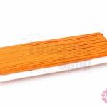 เชือกไหม สีส้ม 1หลา(90ซม)