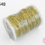ลวดทองเหลือง 0.35มิล #29 (1ม้วน)