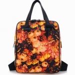 พร้อมส่ง กระเป๋าเป้แฟชั่น BeiBaoBao ลายดอก สีสันสดใส สามารถถือได้ แบบสวยเก๋ค่ะ