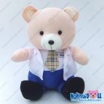 """ตุ๊กตา หมีหมอ ผ้าทีเอฟ เล็ก-11"""""""