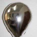 ลูกโป่งฟลอย์รูปหยดน้ำ สีเงิน - Water Drop Shape Foil Balloon Silver Color / Item no. TL-G036