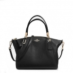 กระเป๋า COACH PEBBLE LEATHER SMALL KELSEY SATCHEL F34493