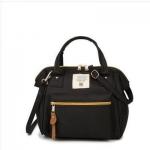 กระเป๋าถือและสะพายข้างผู้หญิง รหัส SUIF0219BK สีดำ มีซิปหน้ากระเป๋า เก๋ค่ะ