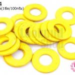 ห่วงโลหะ สีเหลือง 18มิล(1ขีด/100กรัม)