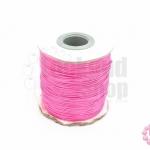 เชือกค๊อตต้อนเคลือบ สีชมพู 0.5มิล(1ม้วน)(100หลา)